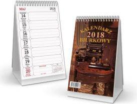 SAPT Kalendarz 2018 biurkowy pionowy, spirala (SB3)