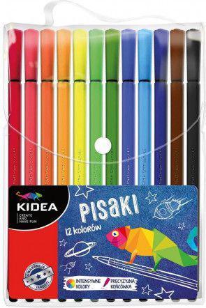 Derform Pisaki w etui 12 kolorów