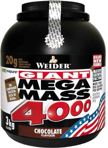 Weider Mega Mass 4000 Czekolada 3kg