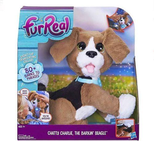 Hasbro FurReal Rozgadany Charlie rozszczekany Beagle