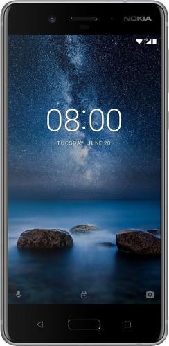 Smartfon Nokia 8 STEEL (11NB1S01A07)