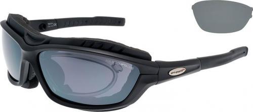 Goggle Okulary przeciwsłoneczne czarne  (T417-1R)