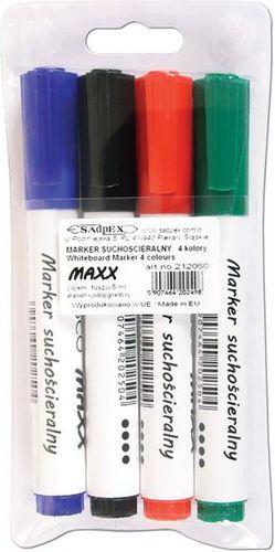 Cresco Marker suchościeralny Maxx 4 kolory - 248186
