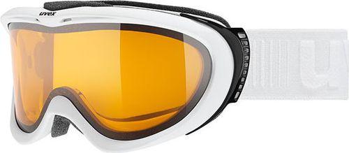 UVEX gogle narciarskie Comanche LGL pomarańczowo-białe