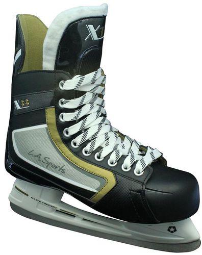 L.A. Sports Łyżwy hokejowe Hockey X33 czarne r. 40 (13600)