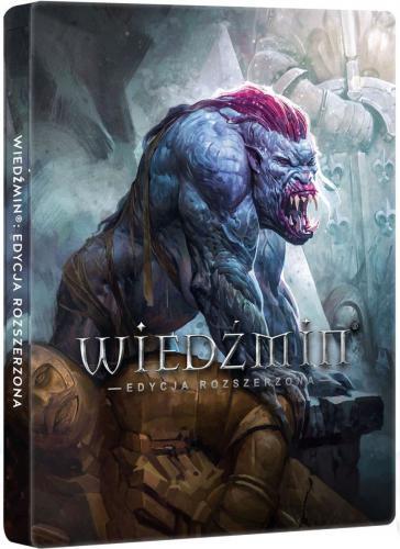 Wiedźmin: Edycja Rozszerzona - Edycja 10-lecia w steelbooku