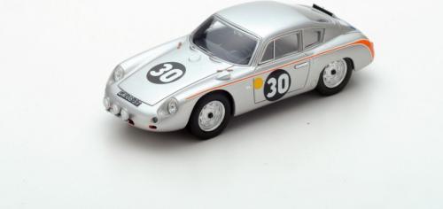 Spark Model Porsche 356B Carrera Abarth #30 B. Pon/C. Godin de Beaufort Le Mans 1962 (GXP-604009)