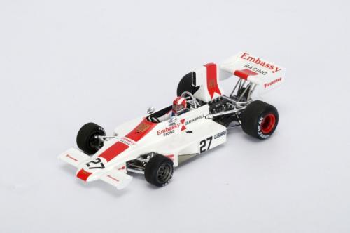 Spark Model Lola T370 #27 Rolf Stommelen Italian GP 1974 (GXP-604156)