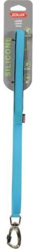 Zolux Smycz silikonowa 25 mm kolor niebieski