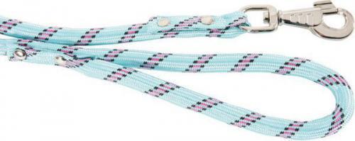 Zolux Smycz nylonowa sznur 13mm/ 2m kolor turkusowy