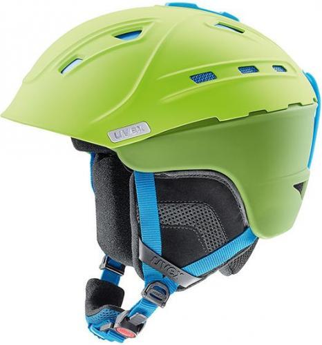 UVEX Kask  narciarski P2us Green-liteblue mat r. S-M