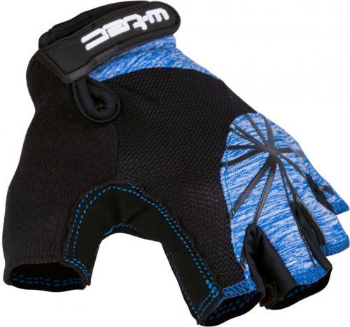 W-TEC Damskie rękawice rowerowe Klarity AMC-1039-17 czarno-niebieskie r. L (16368)