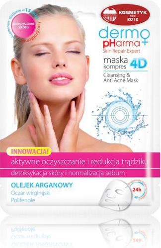 Dermo Pharma Maska Kompres 4D - Oczyszczanie I Redukcja