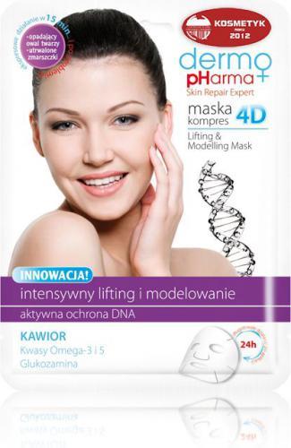 Dermo Pharma Maska Kompres 4D - Lifting I Modelowanie