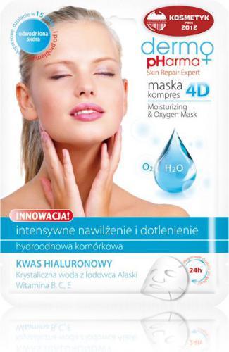 Dermo Pharma Maska Kompres 4D - Nawilżenie I Dotlenienie