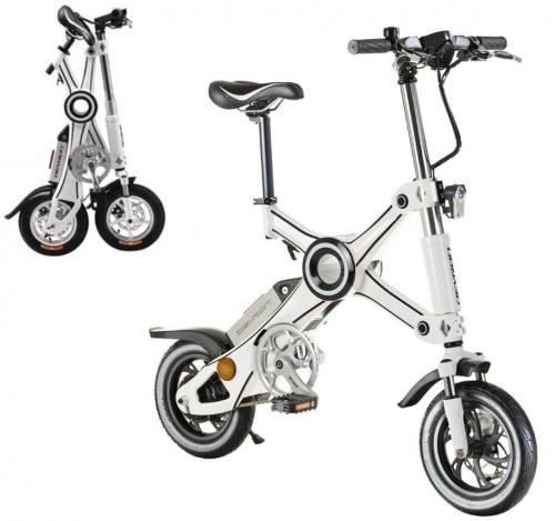 """Devron Składany rower elektryczny Devron X3 12"""" - model 2017 Kolor Biały - 31712X3WH"""