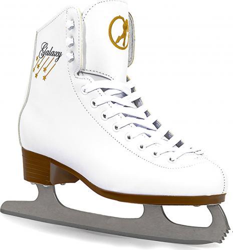 SFR Łyżwy damskie Galaxy Ice Skates białe r. 39.5