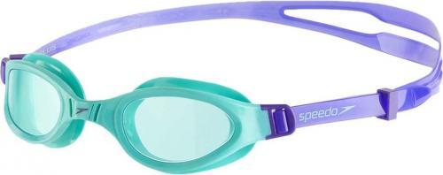 Speedo Okulary pływackie Futura Plus fioletowo-zielone