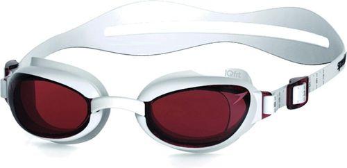 Speedo Okulary pływackie Aquapure Female Speedo biało-czerwony roz. uniw (8-090048914)