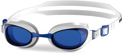 Speedo Okulary pływackie Aquapure biało-niebieskie r. uniwersalny