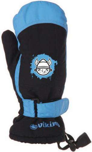 Viking Rękawice dziecięce Buddy niebieskie r. 5 (125/11/4305)