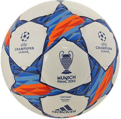 Adidas Piłka adidas Finale Munich 2012 Capitano X16701 X16701 biały - X16701
