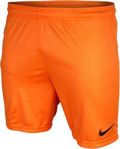 Nike Spodenki męskie Park pomarańczowe r. S