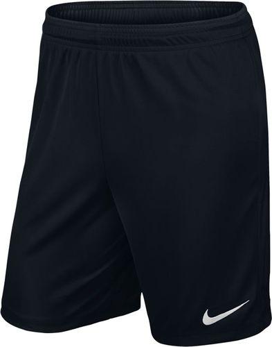 Nike Spodenki męskie Park II Knit Boys czarny, rozmiar xs