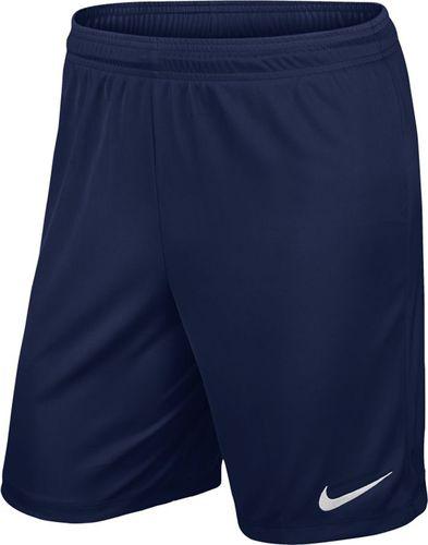 Nike Spodenki piłkarskie Park II Knit Boys  granatowe r. M