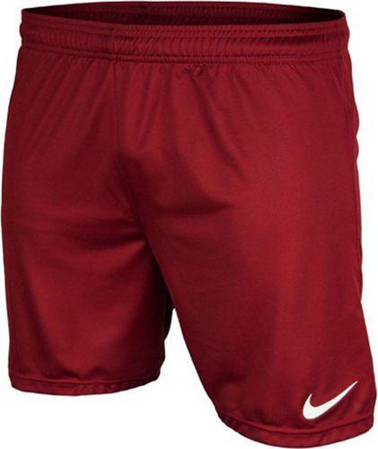 Nike Spodenki męskie Park Boys  czerwone r. S
