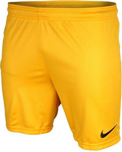 Nike Spodenki męskie Park  żółty r. L