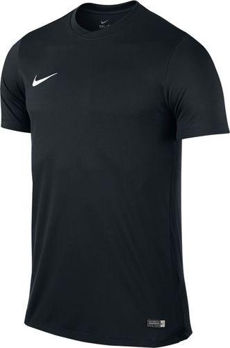 Nike Koszulka Park VI Boys czarna r. S (725984 010)