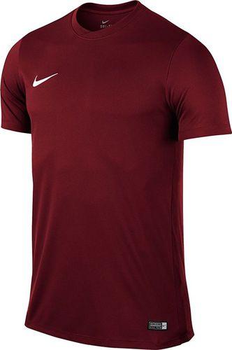 Nike Koszulka piłkarska Park VI Boys czerwona r. XS (725984 677)