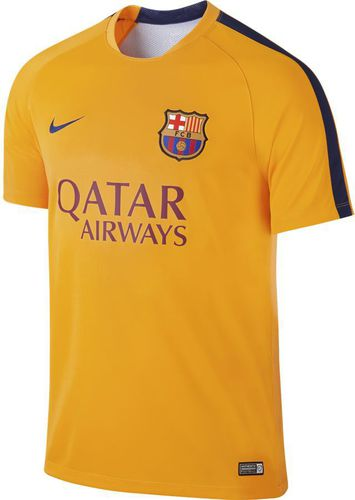 Nike Koszulka męska FC Barcelona Pre-Match Training żółta r. XL (686641 740)