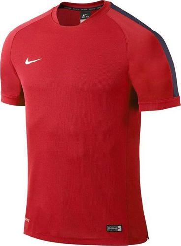 Nike Koszulka dziecięca Flash Training Top Boys czerwona r. S (646401 662)