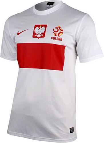 Nike Koszulka męska Polska Replika biała r. XXL (450510 105)