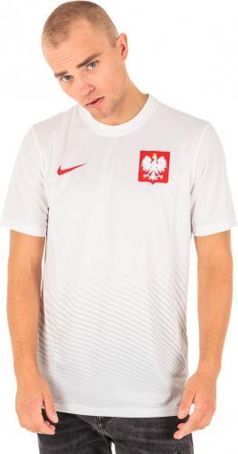 Nike Koszulka piłkarska Poland Supporters biała r. M (724632100)