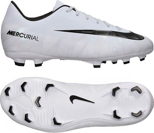 Nike Buty piłkarskie JR Mercurial Victory VI CR7 FG  białe r. 28 (852489 401)