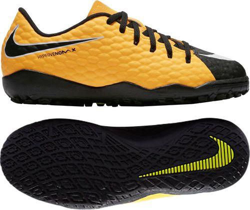 Nike Buty piłkarskie Jr Hypervenom Phelon III IC pomarańczowe r. 35 (852600 801)
