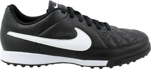 Nike Buty piłkarskie Jr Tiempo Genio Leather TF czarno-białe r. 36.5 (631529-010)