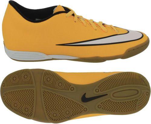 Nike Buty piłkarskie Mercurial Vortex II IC kolor pomarańczowy r. 42 (651648 800-S)
