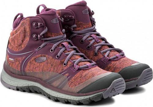 Keen Buty trekkingowe TERRADORA MID WP kolor fioletowy r. 41 (TERRADMW-WN-DPPS)