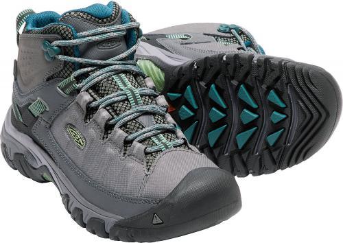 Keen Buty trekkingowe damskie TARGHEE EXP MID WP kolor szaro-niebieski r. 37.5 (TARGHEXPMW-WN-SGBA)