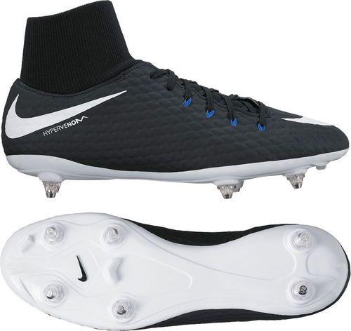 Nike Buty piłkarskie Hypervenom Phelon 3 DF SG czarne r. 42 (917767 002)