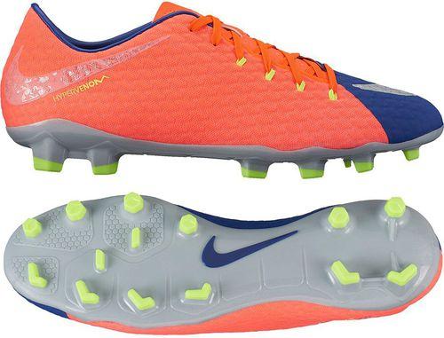 check out 44198 44742 Nike Buty piłkarskie męskie Hypervenom Phelon III FG niebiesko-pomarańczowe  r. 42 1/