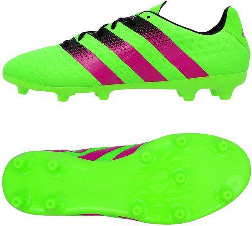 Adidas Buty piłkarskie ACE 16.3 FG/AG zielone r. 41 1/3 (AF5145)