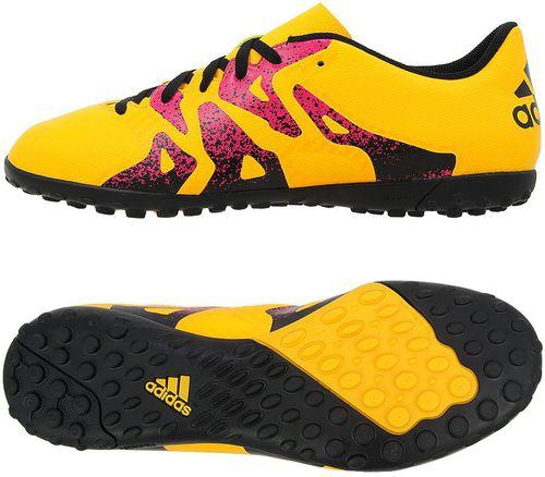 Adidas Buty piłkarskie X 15.4 TF żółte r. 42 (S74608)