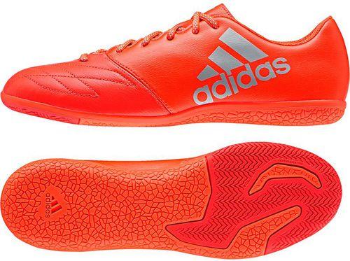Adidas Buty piłkarskie X 16.3 IN Leather czerwone r. 44 (S79568)