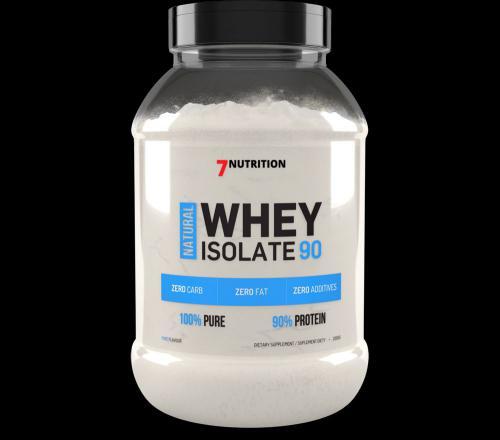 7 Nutrition Whey Isolate 90 truskawka z banenem 1kg