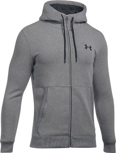 Under Armour Bluza męska Threadborne FZ Hoodie szara r. S (1299134-025)